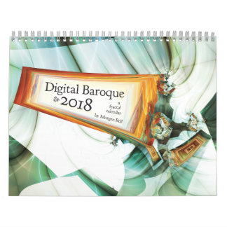 Digital Baroque 2018 Calendar