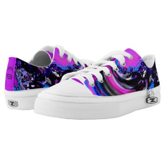 Digital Big Wave Low-Top Sneakers