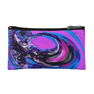 Digital Big Wave Makeup Bag