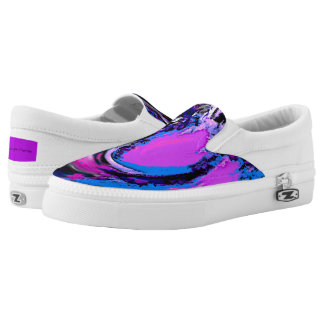 Digital Big Wave Slip-On Sneakers