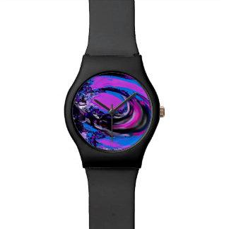Digital Big Wave Watch