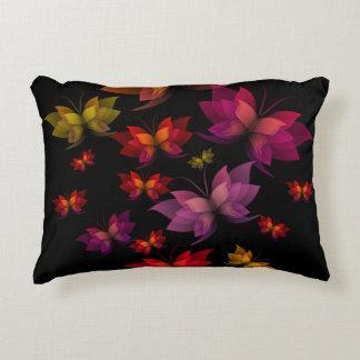 Digital Butterflies Accent Pillow