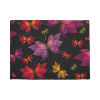 Digital Butterflies Doormat