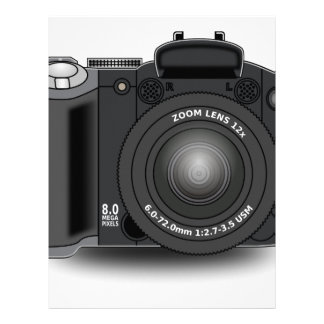 Digital Camera Letterhead
