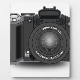 Digital Camera Plaque