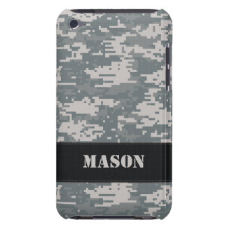 Digital Camouflage Barely There iPod Touch Case