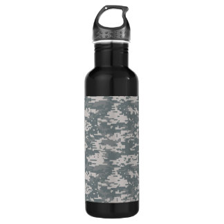 Digital Camouflage Bottle