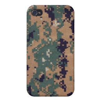 Digital Camouflage i iPhone 4 Case