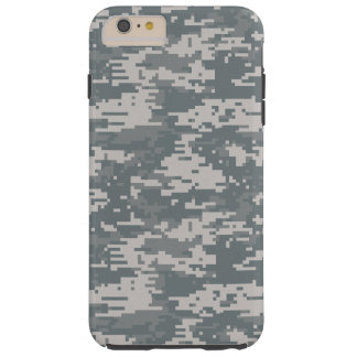Digital Camouflage Tough iPhone 6 Plus Case