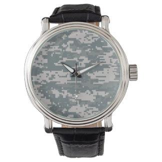 Digital Camouflage Watch