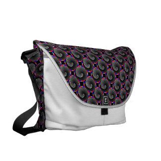 Digital Checker Yin Yang Courier Bags