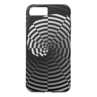 Digital Checker Yin Yang iPhone 7 Plus Case