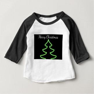 Digital Christmas tree Baby T-Shirt