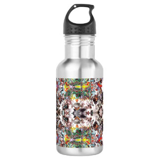 Digital Collage Water Bottle
