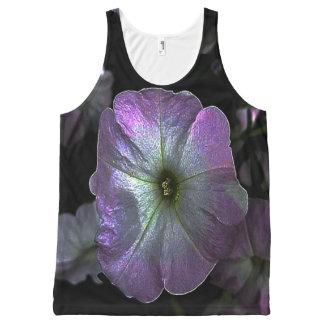 Digital color petunia flower