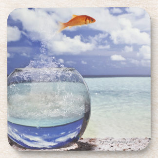 Digital composition beverage coasters