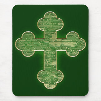 Digital Cross Mouse Pad