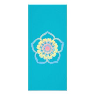 Digital daisy customized rack card
