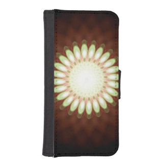 Digital Daisy in Abstract iPhone SE/5/5s Wallet Case