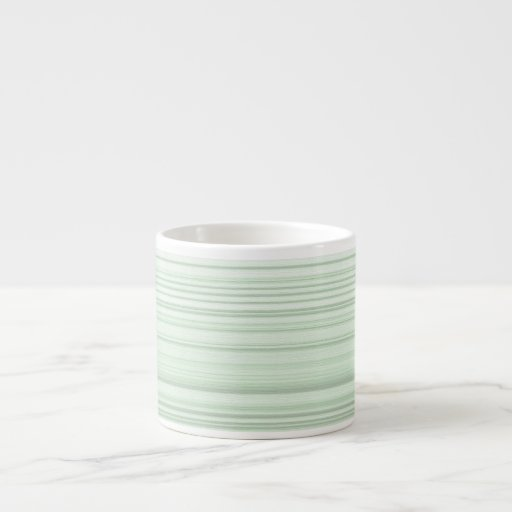 Digital Design in Pale Green Espresso  Mug Espresso Cups