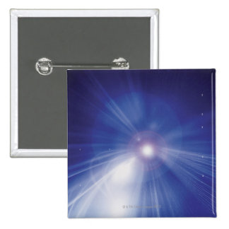 Digital Design Shining Star 2 Inch Square Button