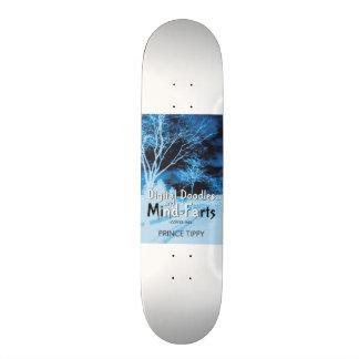 Digital doodles and mind-farts skate board
