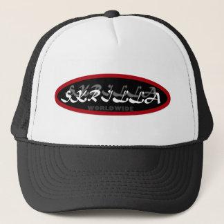 "digital DzynR's ""SKRILLA WORLDWIDE"" Mesh Ball cap"