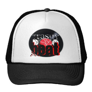 "digital DzynR's ""TRASHY DISCO BEAT"" Mesh Ball Cap Trucker Hat"