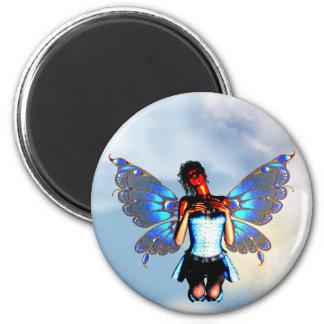 Digital Fairy Magnet Round