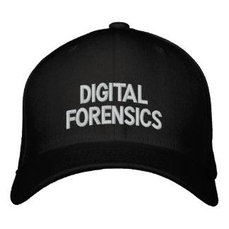 Digital Forensics Embroidered Hat