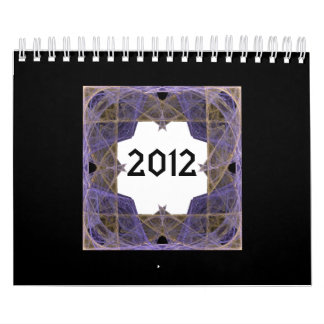 Digital Fractal Art Frames Calendar