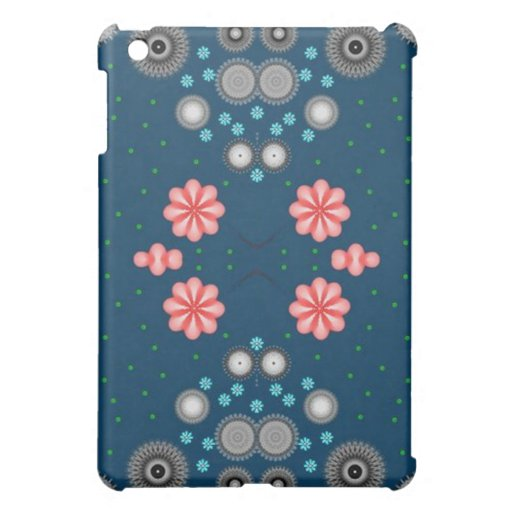 Digital Fractal Style, Apple and Mobile Cases iPad Mini Cover