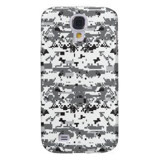Digital Gray Camouflage Pattern