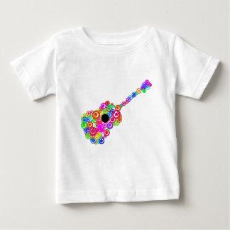 Digital Guitar instruments circle design Baby T-Shirt