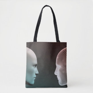 Digital Identity and Transfer of Knowledge Tote Bag