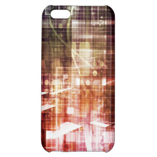 Digital Imagery with Data Network Transfer Art Case For iPhone 5C