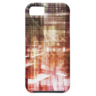 Digital Imagery with Data Network Transfer Art Case For The iPhone 5