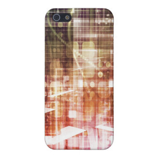 Digital Imagery with Data Network Transfer Art iPhone 5 Case