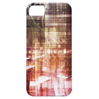 Digital Imagery with Data Network Transfer Art iPhone 5 Cover