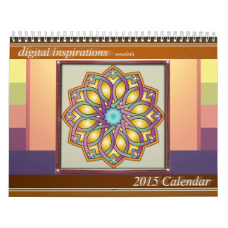 Digital Inspiration-Mandala 2015 Calendar