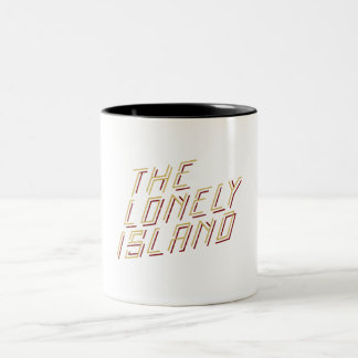 Digital Island Two-Tone Coffee Mug