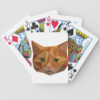 Digital Kitty Bicycle Playing Cards
