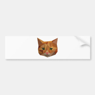Digital Kitty Bumper Sticker