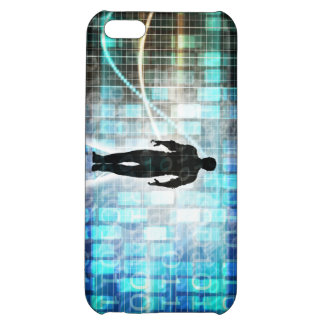 Digital Literacy as a Technology Concept Backgroun iPhone 5C Covers