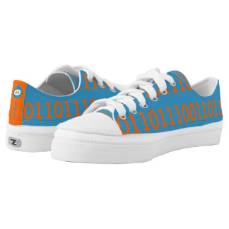 Digital Love Low Top Shoes All Binary