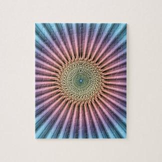 Digital Mandala Flower Jigsaw Puzzle