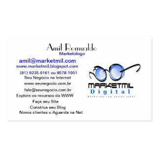 Digital marketing business card
