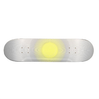 Digital Minimalist Sunshine Skateboards