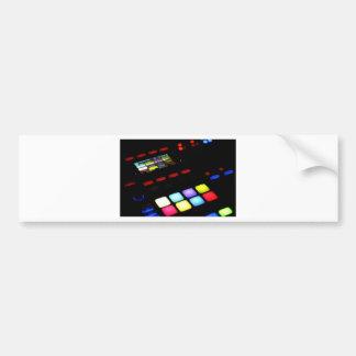 Digital Music Dj Technology Sequencer Samples Bumper Sticker
