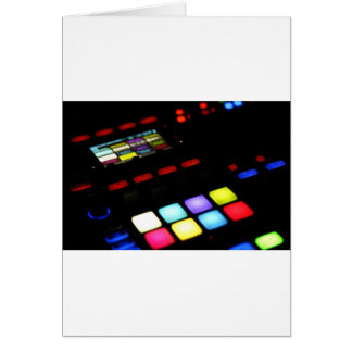 Digital Music Dj Technology Sequencer Samples Card